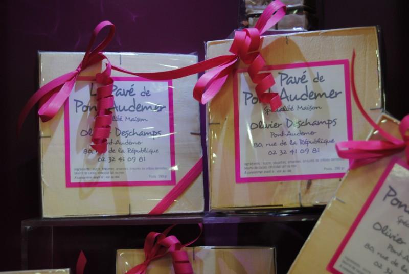 pavé pont audemer olivier deschamps chocolat